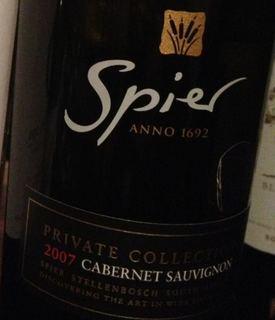 Spier Private Collection Cabernet Sauvignon
