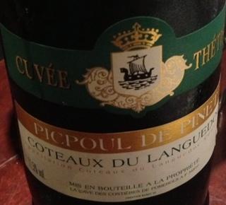 Cuvée Thétis Picpoul de Pinet