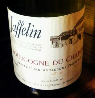 Jaffelin Bourgogne du Chapitre