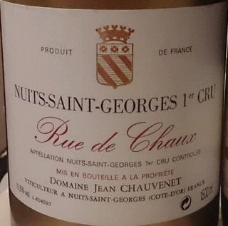 Dom. Jean Chauvenet Nuits Saint Georges 1er Cru Rue de Chaux