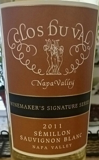 Clos Du Val Winemaker's Signature Series Semillon Sauvignon Blanc
