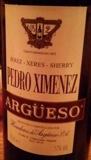 Argüeso Pedro Ximenez Sherry