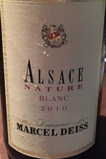 Marcel Deiss Alsace Nature Blanc