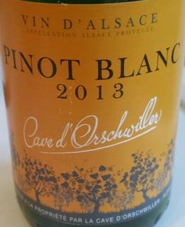 Cave d'Orschwiller Pinot Blanc