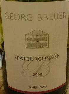 Georg Breuer Spätburgunder B