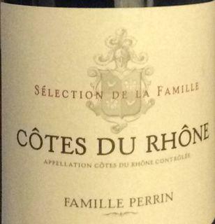 Famille Perrin Côtes du Rhône Rouge