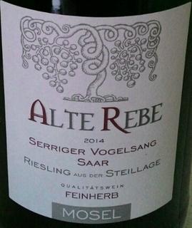 Peter Mertes Alte Rebe Riesling