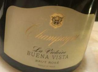 Buena Vista Champagne La Victoire Brut Rosé
