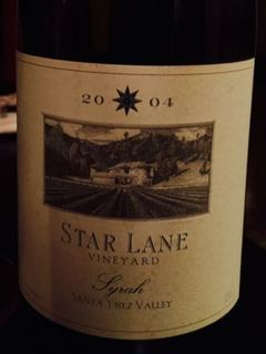 Star Lane Syrah Santa Ynez Valley