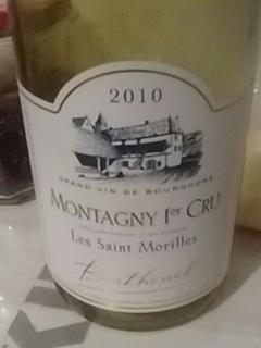 Berthenet Montagny 1er Cru Les Saint Morilles