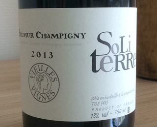Thierry Germain Soliterre Saumur Champigny Rouge