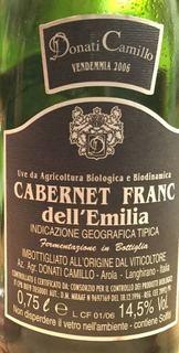 Camillo Donati Cabernet Franc