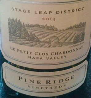 Pine Ridge Vineyards Stags Leap District Le Petit Clos Chardonnay