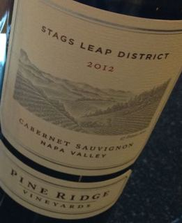 Pine Ridge Vineyards Stags Leap District Cabernet Sauvignon(パイン・リッジ・ヴィンヤーズ スタッグス・リープ・ディストリクト カベルネ・ソーヴィニヨン)