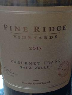 Pine Ridge Vineyards Cabernet Franc