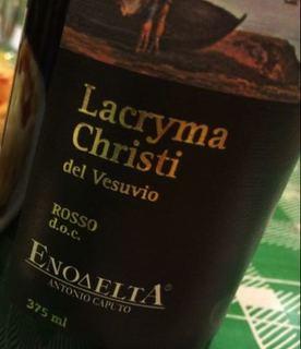 Enodelta Lacryma Christi del Vesuvio Rosso
