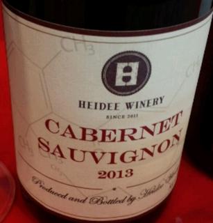 Heidee Winery Cabernet Sauvignon