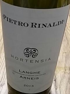 Pietro Rinaldi Hortensia Langhe Arneis
