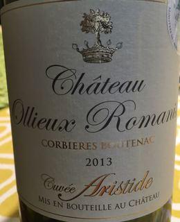 Ch. Ollieux Romanis Cuvée Aristide