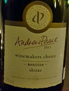Andrew Peace Winemakers Choice Shiraz