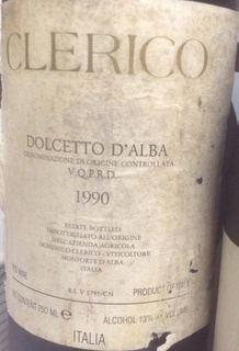 Domenico Clerico Langhe Dolcetto