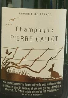 Pierre Callot Cuvée Diversity