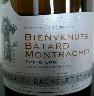 Jean Claude Bachelet et Fils Bienvenues Bâtard Montrachet Grand Cru
