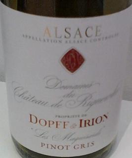 Dopff & Irion Dom. du Ch. de Riquewihr Pinot Gris Les Maquisard