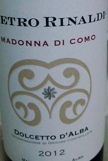 Pietro Rinaldi Dolcetto d'Alba Madonna di Como