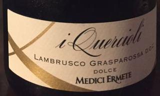 Medici Ermete i Quercioli Lambrusco Grasparossa Dolce