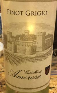 Castello di Amorosa Pinot Grigio(カステッロ・ディ・アモローサ ピノ・グリージョ)