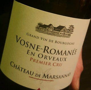 Ch. de Marsannay Vosne Romanée 1er Cru En Orveaux
