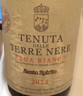 Tenuta delle Terre Nere Etna Bianco Santo Spirito(テヌータ・デッレ・テッレ・ネーレ エトナ・ビアンコ サント・スピリト)