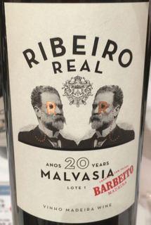 Barbeito Ribeiro Real Anos 20 Years Malvasia(バーベイト リベイロ・レアル トゥエンティ・イヤーズ マルヴァジア)