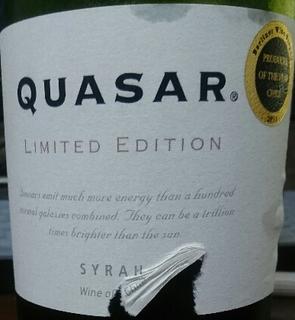 Quasar Limited Edition Syrah