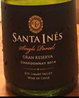 Santa Ines Single Parcel Chardonnay Gran Reserva
