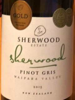 Sherwood Estate Pinot Gris