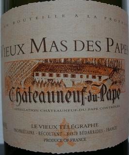 Vieux Mas des Papes Châteauneuf du Pape