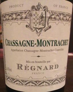 Régnard Chassagne Montrachet
