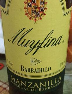 Barbadillo Manzanilla Muy Fina