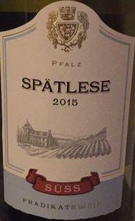 Süss Pfalz Spätlese
