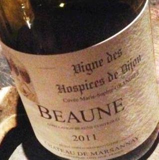 Vigne des Hospice de Dijon Beaune Cuvée Marie Sophie Grangier