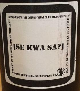 Buronfosse Se Kwa Sa?