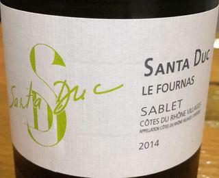 Santa Duc Sablet Le Fournas Blanc