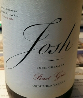 Joseph Carr Josh Cellars Pinot Gris Columbia Valley