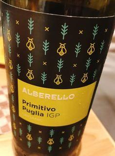Alberello Primitivo Puglia Organic(アルベレッロ プリミティーヴォ プーリア オーガニック)