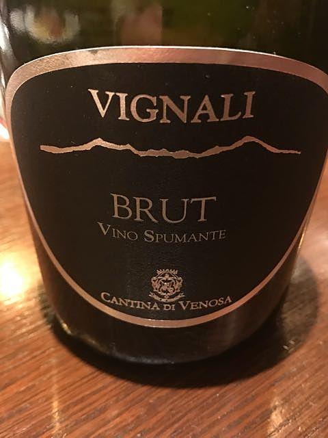 Cantina di Venosa Vignali Brut(カンティーナ・ディ・ヴェノーザ ヴィニャーリ ブリュット)