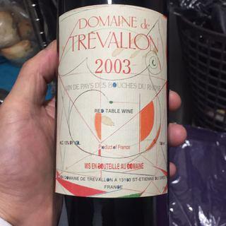 Dom. de Trévallon Rouge 2003