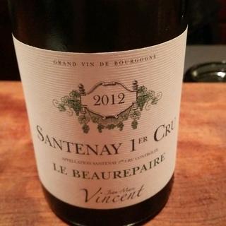 Jean Marc Vincent Santenay 1er Cru Le Beaurepaire Blanc(ジャン・マルク・ヴァンサン サントネイ プルミエ・クリュ レ・ ボールペール ブラン)