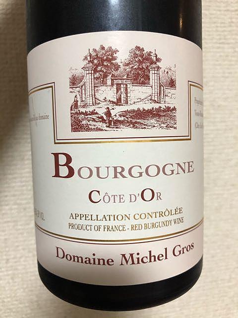 Dom. Michel Gros Bourgogne Côte d'Or Rouge